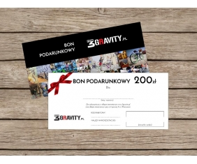 Gift Card 3gravity - 200 PLN