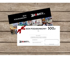 Gift Card 3gravity - 500 PLN