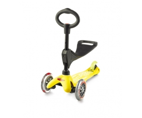 Mini Micro 3 in 1 Deluxe - Yellow - sklep rowerowy - 3gravity.pl