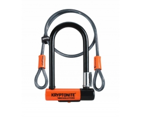 Zapięcie U-lock Kryptonite Evolution Mini 7 Centralny Zamek + Kryptoflex Cable