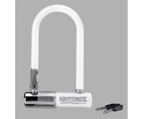 Zapięcie U-lock Kryptonite - Kryptolok series 2 Mini 7 Biały