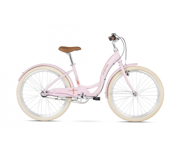 Le Grand - Lille Jr Pink Glossy - sklep rowerowy - 3gravity.pl