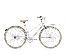 "CREME CAFERACER LADY SOLO WHITE 7S 28"" - sklep rowerowy - 3gravity.pl"